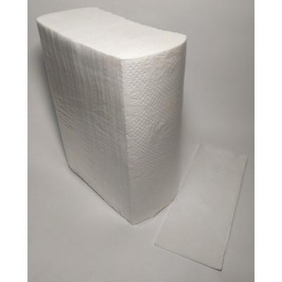 Рушник паперовий целюлозний ZZ складання 2шар 200шт М (15уп/ящ)