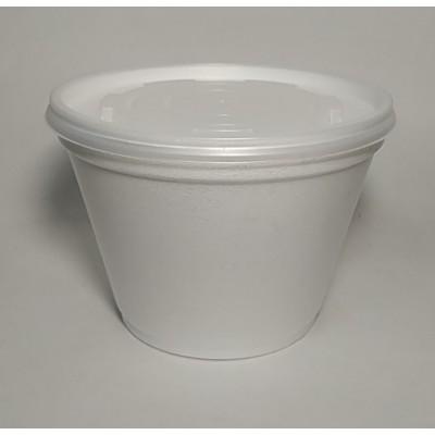 Кришка до ємностей супних 350-690 мл ВПС (16/20 FCS) 50шт в уп (10уп/ящ)