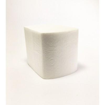 Папір туал. листовий целлюлозний 2шар 200 листів з тисненням M (32уп/ящ)
