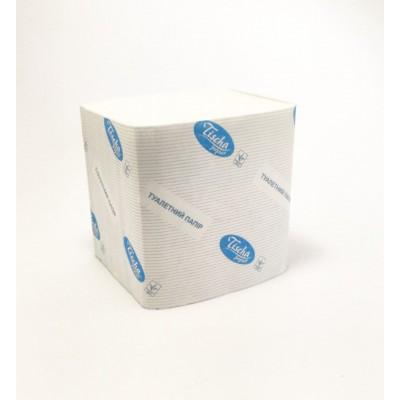 Папір туал. листовий целлюлозний 2шар 300 листів Б/ТИСНЕННЯ Тіша B305 (40уп/ящ)