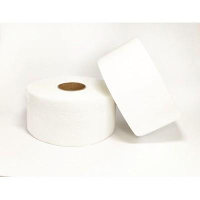 Папір туал. на гільзі джамбо целюлозний 2шар білий PN 90м. E9 (12рул/уп)