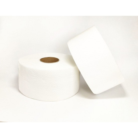 Папір туал. на гільзі джамбо целюлозний 2шар білий PN 60м.Е6 (12рул/уп)