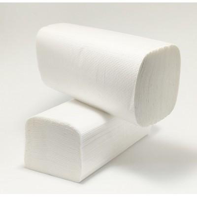 Рушник паперовий целюлозний V 2шар білий 150шт Wellis (20уп/ящ)