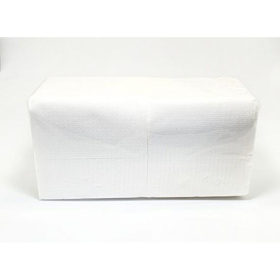 Серветки банкетні 33х33см 1ШАР білі 200шт Хорека А (4уп/ящ)