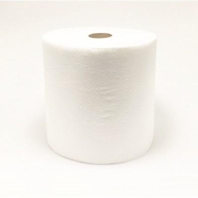 Рушник паперовий целюлозний на гільзі 2шар білий джамбо PN 75м E7 (6рул/уп)