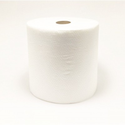 Рушник паперовий целюлозний на гільзі 2шар білий джамбо PN 90м E9 (6рул/уп)